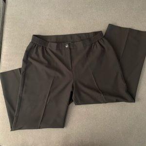 Capsule Black Trouser, full leg sz 18